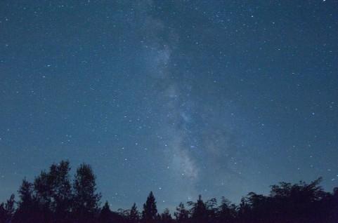 Mac星の夜空